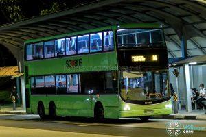Bus 14 - SBS Transit Volvo B9TL CDGE (SBS7443K)