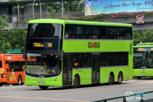 Bus 39 - SBS Transit Volvo B9TL CDGE (SBS7443K)