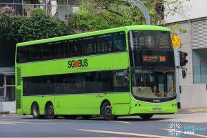 Bus 198 - SBS Transit Volvo B9TL CDGE (SBS7446C)