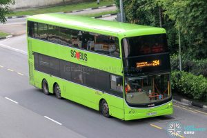 Bus 254 - SBS Transit Volvo B9TL CDGE (SBS7449U)