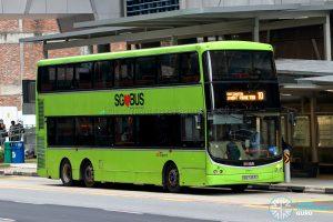 Bus 10 - SBS Transit Volvo B9TL CDGE (SBS7463C)