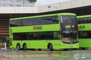 Bus 197 - SBS Transit Volvo B9TL CDGE (SBS7465Y)