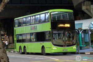 Bus 974A - SBS Transit Volvo B9TL CDGE (SBS7490Z)