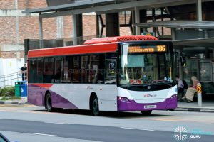 Bus 186 - SBS Transit Scania K230UB Euro IV (SBS8180L)