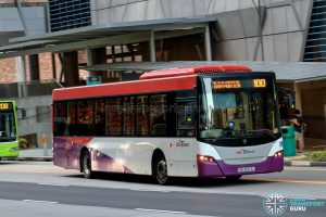 Bus 100 - SBS Transit Scania K230UB Euro IV (SBS8553U)