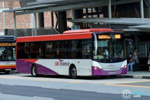 Bus 100 - SBS Transit Scania K230UB Euro IV (SBS8558G)