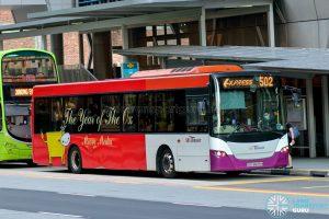 Express 502 - SBS Transit Scania K230UB Euro V (SBS8699H)