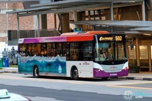 Express 502 - SBS Transit Scania K230UB Euro V (SBS8771G)