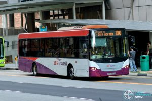 Bus 100 - SBS Transit Scania K230UB Euro V (SBS8860H)