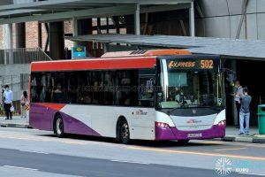 Express 502 - SBS Transit Scania K230UB Euro V (SBS8976H)