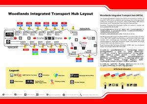 Woodlands Integrated Transport Hub Brochure (Back - Berth Layout)