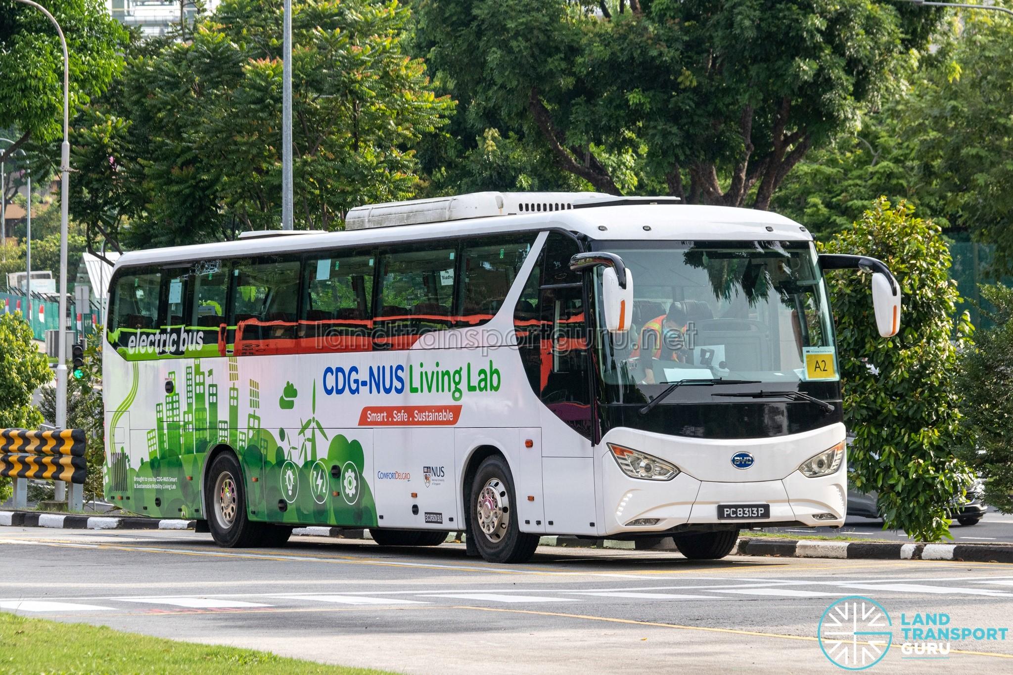 BYD C9 Electric Bus