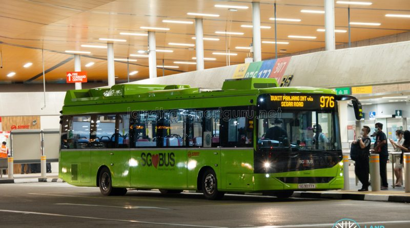 Bus 976 - SMRT Linkker LM312 (SG3077Y)