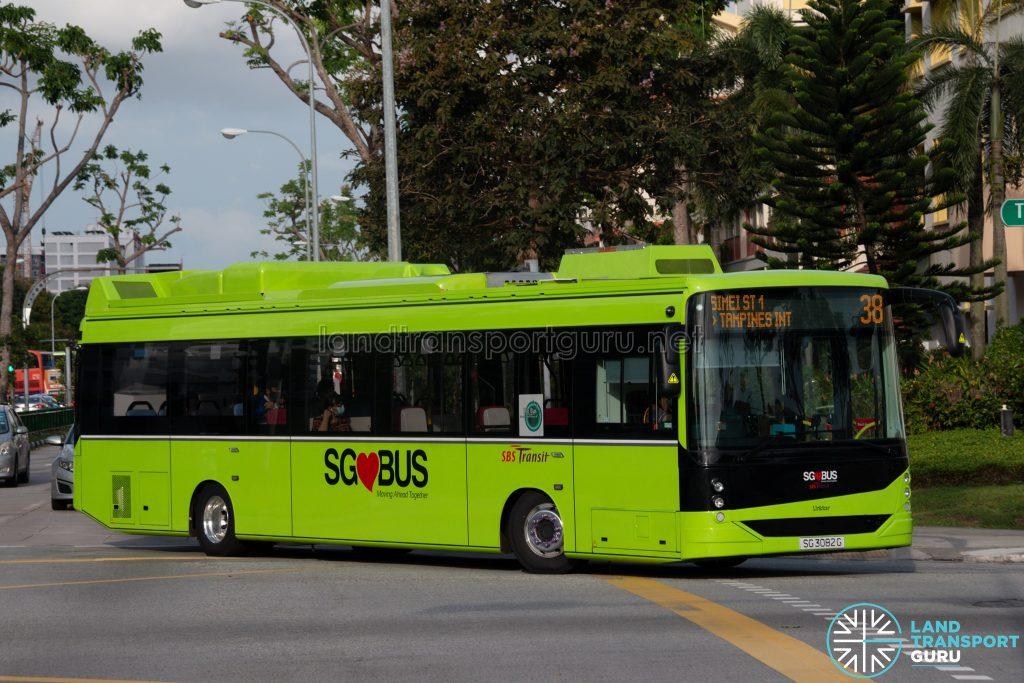 Bus 38 - SBS Transit Linkker LM312 (SG3082G)
