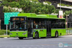 Bus 944 - Tower Transit Yutong E12 (SG3099J)