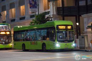 Bus 167: SMRT Buses Volvo B5LH (SG3024A)