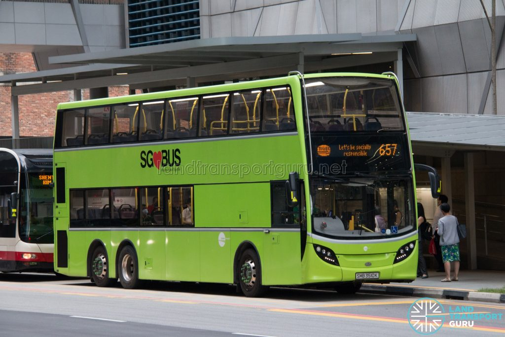 City Direct 657 - Tower Transit Alexander Dennis Enviro500 (SMB3510K)