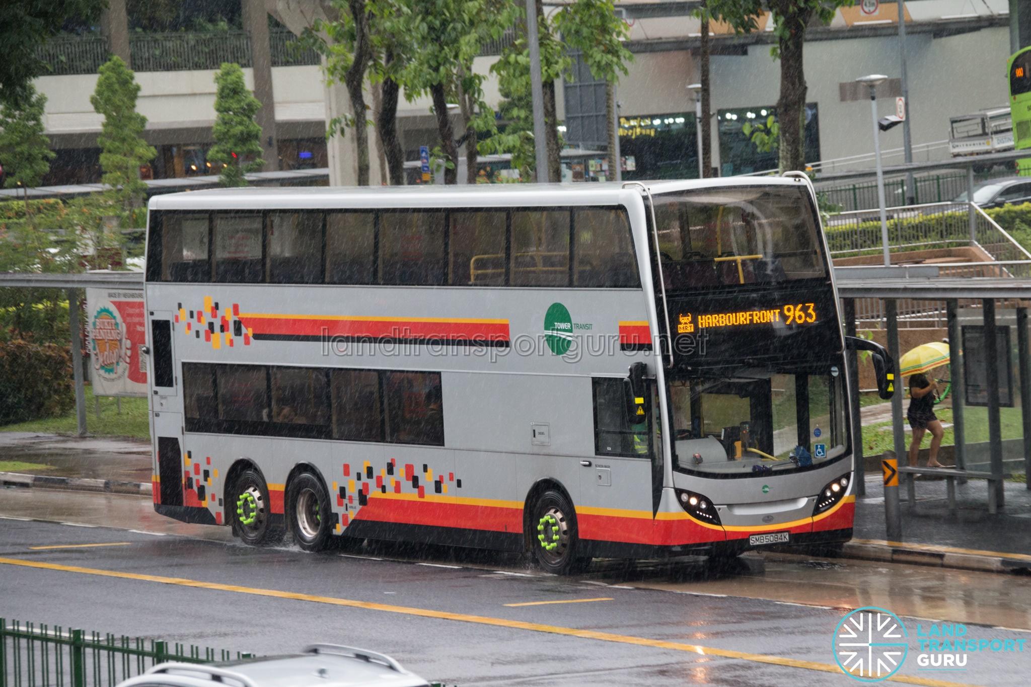 Bus 963 - Tower Transit Alexander Dennis Enviro500 (SMB5084K)