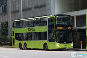 City Direct 652: SBS Transit MAN A95 (SG6049J)
